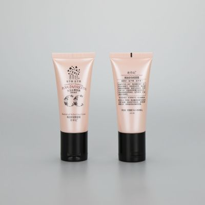 30g luxury face cream bb cream plastic cosmetic tube lotion tube cream tube with fancy compact cap