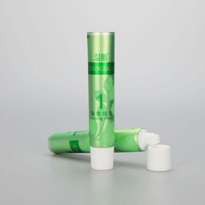 25mm 30g new design hair care hair dye shampoo aluminum packaging tube with white screw cap