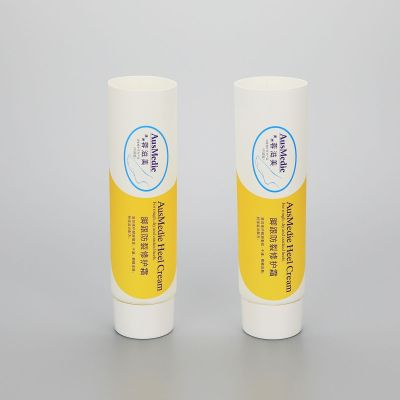 80g skin care body lotion tube cream tube plastic cosmetic tube packaging with fancy twist off cap