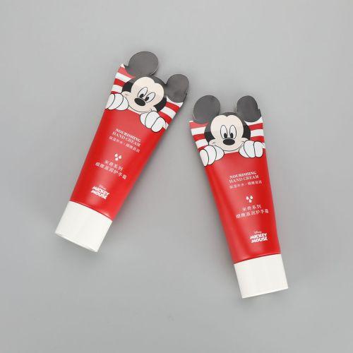Cute 65g cosmetic aluminum plastic cartoon printing hand cream tube special sealing laminated tube