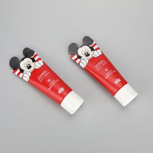 Cute 65g cosmetic aluminum plastic cartoon printing hand cream tube special sealing laminated tube