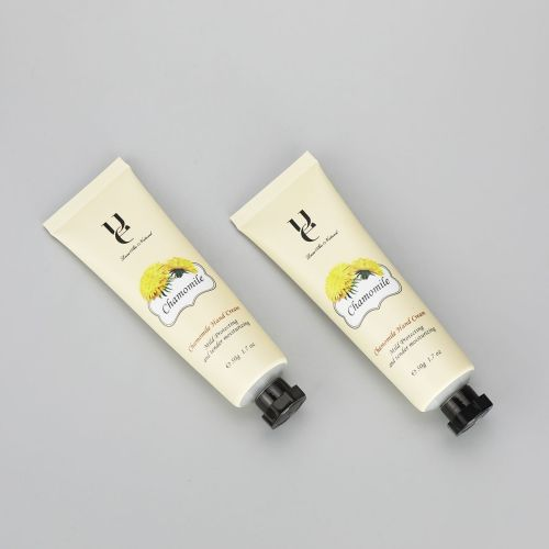 50g/1.7oz aluminum plastic laminated tube hand cream tube flower printing tube with octagonal cap