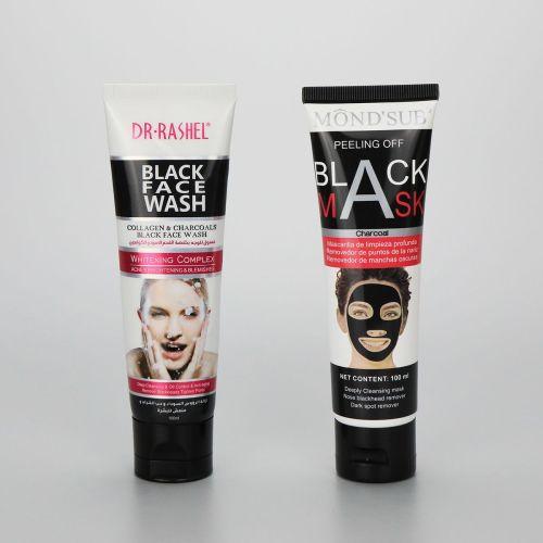 D40mm 100ml aluminum plastic facial cleanser tube cosmetic ABL tube with flip top cap