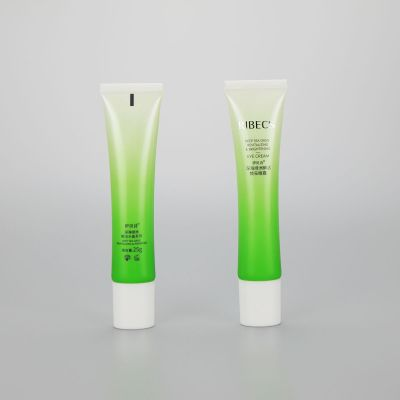 25g Oval eye cream BB CC cream plastic cosmetic tube with screw cap