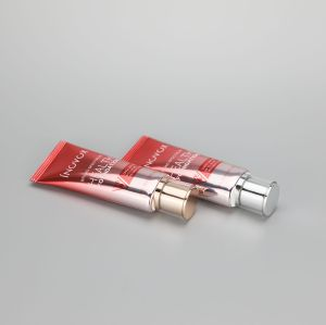45ml/1.59oz aluminum plastic ABL cosmetic tube for BB CC cream with acrylic screw cap