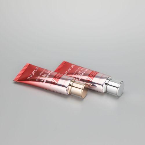 45ml/1.59oz aluminum plastic ABL cosmetic tube for BB CC cream with acrylic screw cap