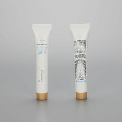 20ml round PBL plastic cosmetic BB CC cream tube lip gloss tube oil tube with screw cap