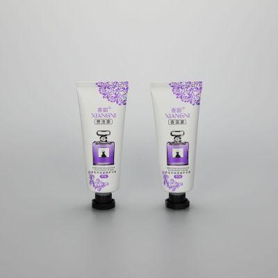 50g cosmetic cute hand cream tube aluminum packaging tube with octagonal cap