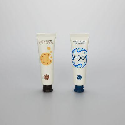 30ml cosmetic aluminum plastic tube for hand cream with flip top cap