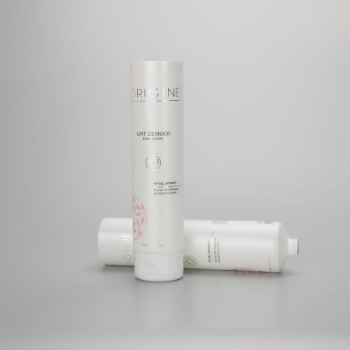 40mm 125g BB CC cream body lotion empty plastic cosmetic packaging tube with flip top cap