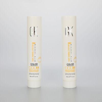 100g/3.4oz soft hair conditioner/facial cleanser/ BB CC cream round plastic tube with screw cap