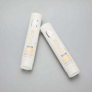 100g/3.4oz soft hair conditioner/facial cleanser/ BB CC cream round plastic tube with screw cap