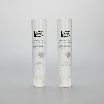 110g 35mm ABL aluminum plastic toothpaste packaging tubes with white Doctor flip top cap