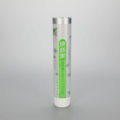 35mm 120g empty tube toothpaste aluminum tube laminated toothpaste tube with white screw cap
