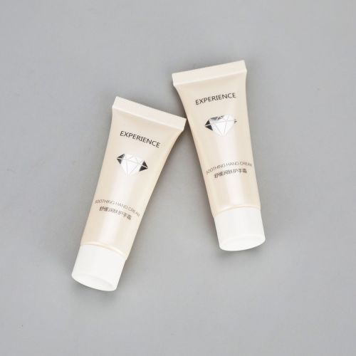 10g cosmetic small sample packaging hand cream lotion tube cosmetic tube with screw cap
