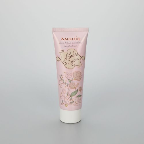 80 ABL pink cosmetic hand cream tube plastic cream packaging with screw cap
