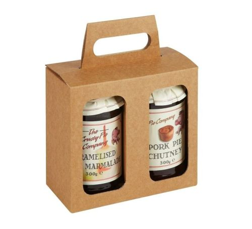 Custom Logo Wine Pack Bottle Paper Box with  Handle For Drinks