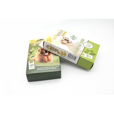 Wholesale Custom Printed 350gsm Paper Dogs Food Box