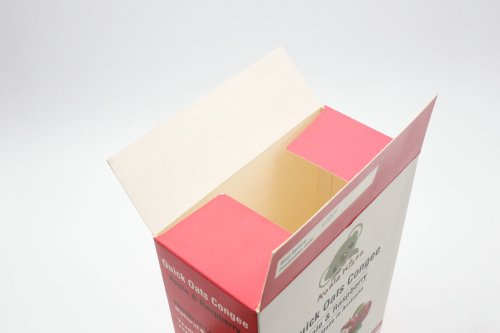 Food Pack Paper Box with Ribbon Knot Custom Design Food Packaging