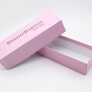 Folding White Cardboard Gift Boxes Rectangle Paper Packaging Boxes