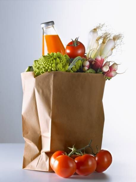 Customized food packaging square bottom kraft paper bag for food