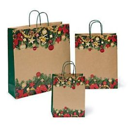 New Design Custom Kraft Paper Bag Gift Paper Shopping Bag With Handle