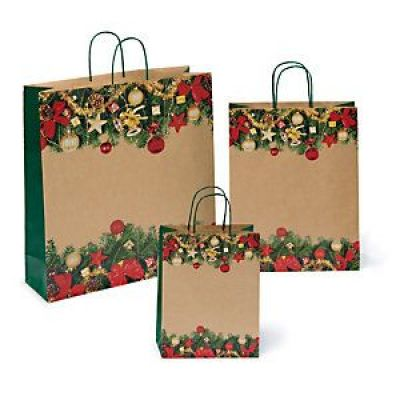 New Design Custom Kraft Paper Bag Gift Paper Shopping Bag With Handle