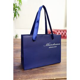 Kraft paper bag custom shopping bag red paper packaging