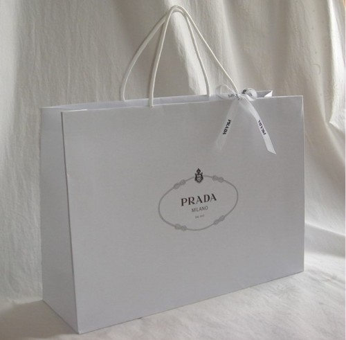 Customized Shopping Paper Bag White Kraft Paper Bags for Clothing