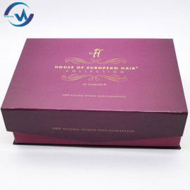 2019 Custom Wholesale black gift with magnet packaging boxes