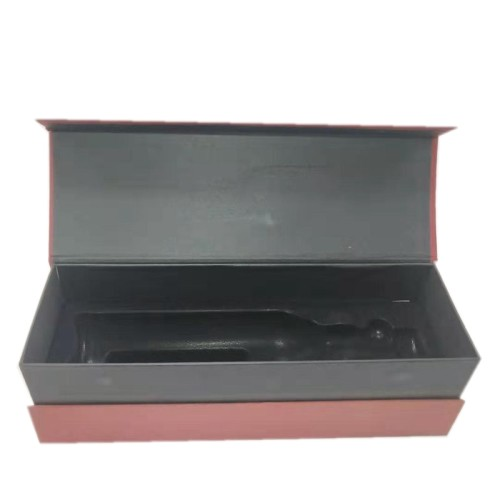 Wheolesale red wisky  individual paris wine packaging box