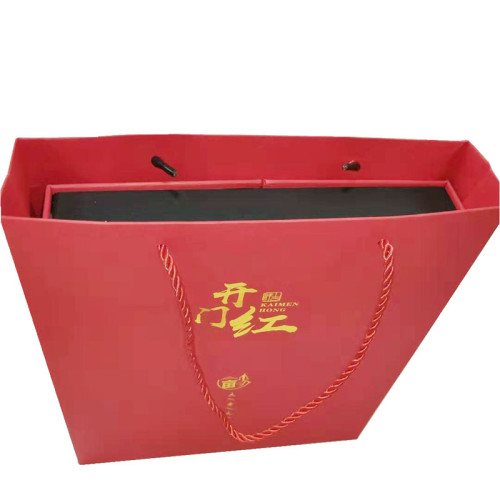 Luxury Suitcase China Red Gift Box With Magnet