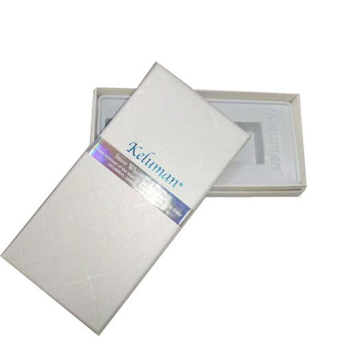 Cheap aluminum makeup packaging boxes