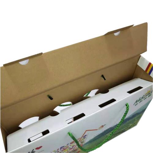 Folding cheap custom juice packaging box