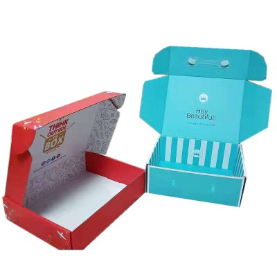 2019 custom best sell corrugated mailer aircraft gift box