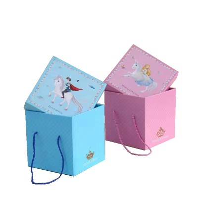 Cheap Quality Child Cartoon Box For Snack Gift Toy Cartoon Packaging
