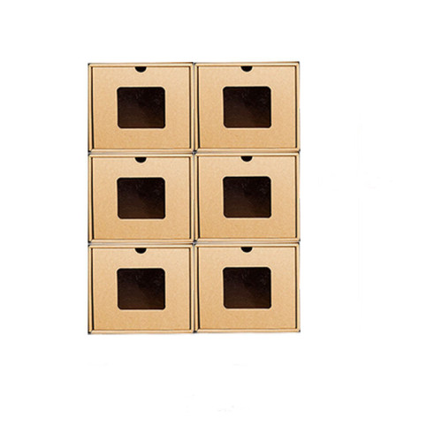 Display Racks Custom Eco Friendly Packaging Advent Calendar Cardboard Shoe Box