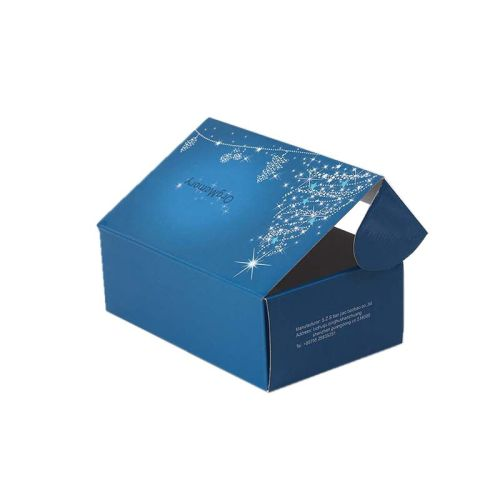Custom Corrugated Black Printed White Mailer Box