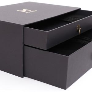 Square Eyelash Packaging Boxes Slide Cardboard Recycled Drawer Gift Box