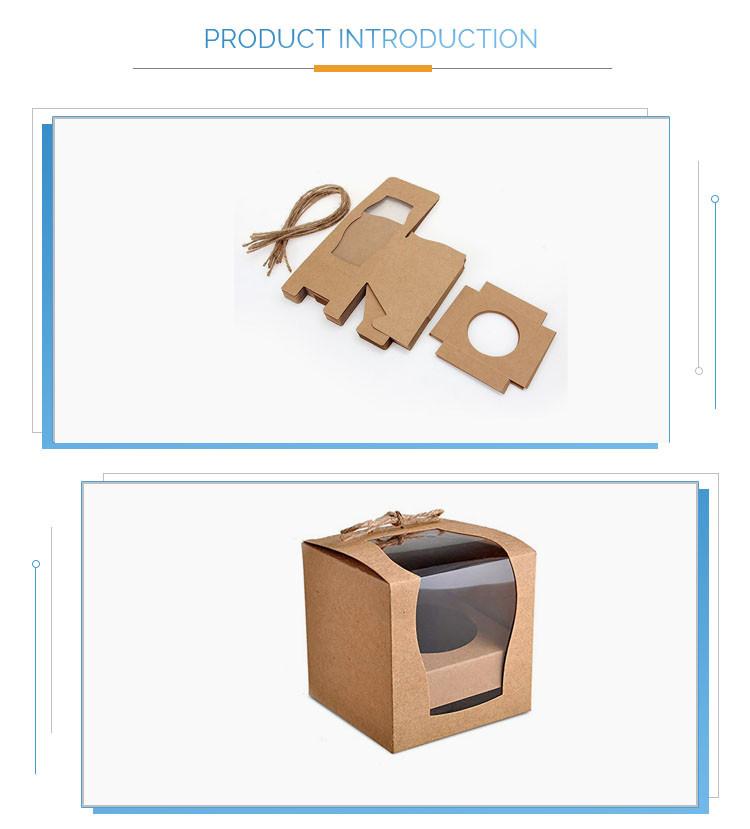 KRAFT PAPER Candle BOX