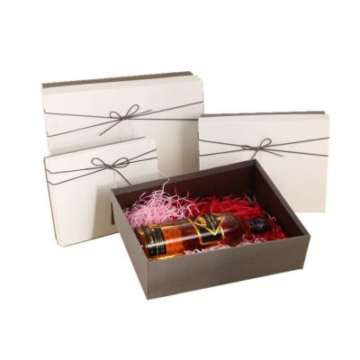 Paper Packages A4 Luxury Gift Box With Bow