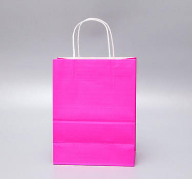 High quality  cheap colorful gift  kraft bag paper