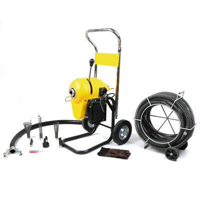 Mamba D-200A  Sectional Drain Cleaning machine with 1 1/4
