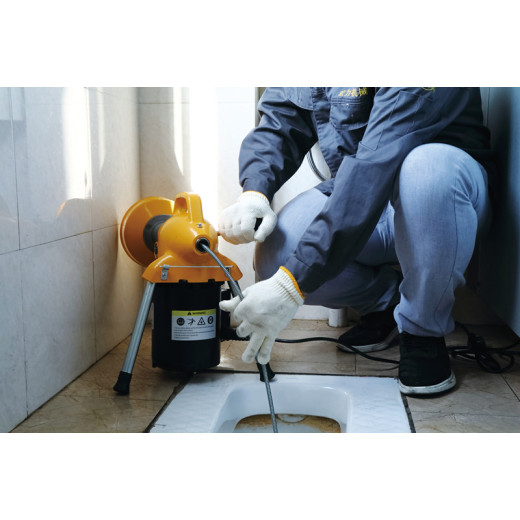 Where to use drain cleaning machines in our daily life?