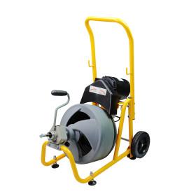 منظف مثقاب أنبوب الصرف الكهربائي من Mambacleaning لأنابيب الصرف قطرها 32 مم إلى 100 مم