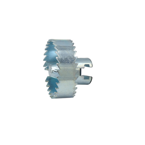 Spiral-Sägezahnschneider zur Reinigung des Abwasserkanals zum Zerhacken kleiner Wurzeln und Zweige
