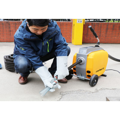 Safety Tips for Using a Drain Cleaning Machine