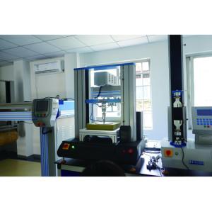 Компьютерная многофункциональная испытательная машина на растяжение