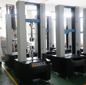 Компьютер серво двухстоечный машина для испытания материалов на растяжение