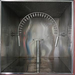 Испытательная камера для распыления воды